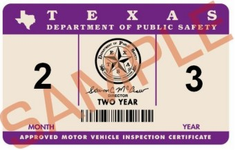 New Inspection Sticker