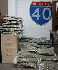 Marijuana Seizure in Oldham County