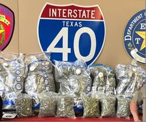 Marijuana Discovered During Traffic Stop in Carson County