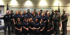 EPPD and DPS Joint Citizen's Academy Graduates 2nd Class of 2018