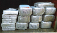 280 pounds of marijuana seized during a traffic stop