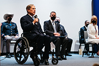 Texas Governor Greg Abbott speaking at A-2020 Graduation